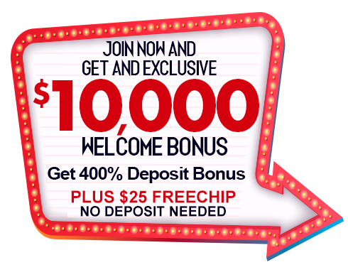$10,000 Welcome Bonus