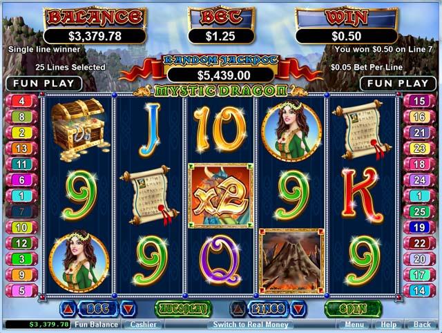 Mystic Dragon Slot - Play Real Casino Slots Online