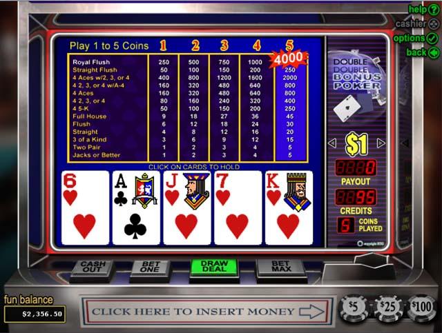 online casino bonuses american poker online