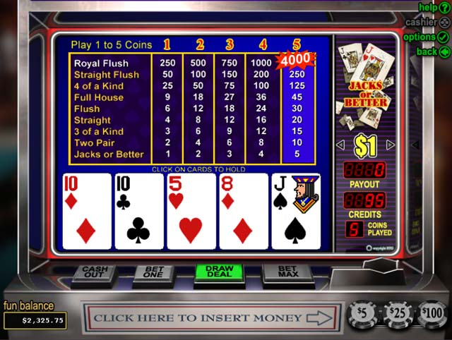 Spiele Jacks Or Better: Double Up - Video Slots Online